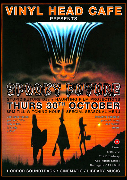 Spooky Future Poster