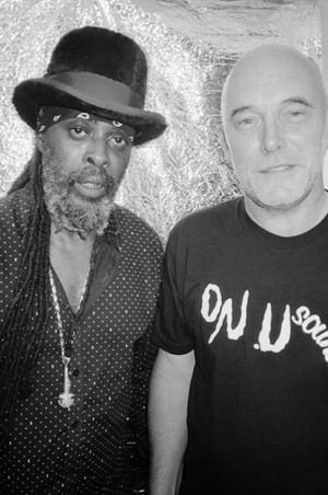Ghetto Priest and Adrian Sherwood by Jason Evans