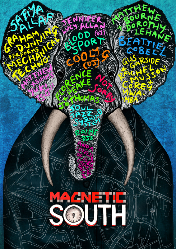 Magnetic South poster